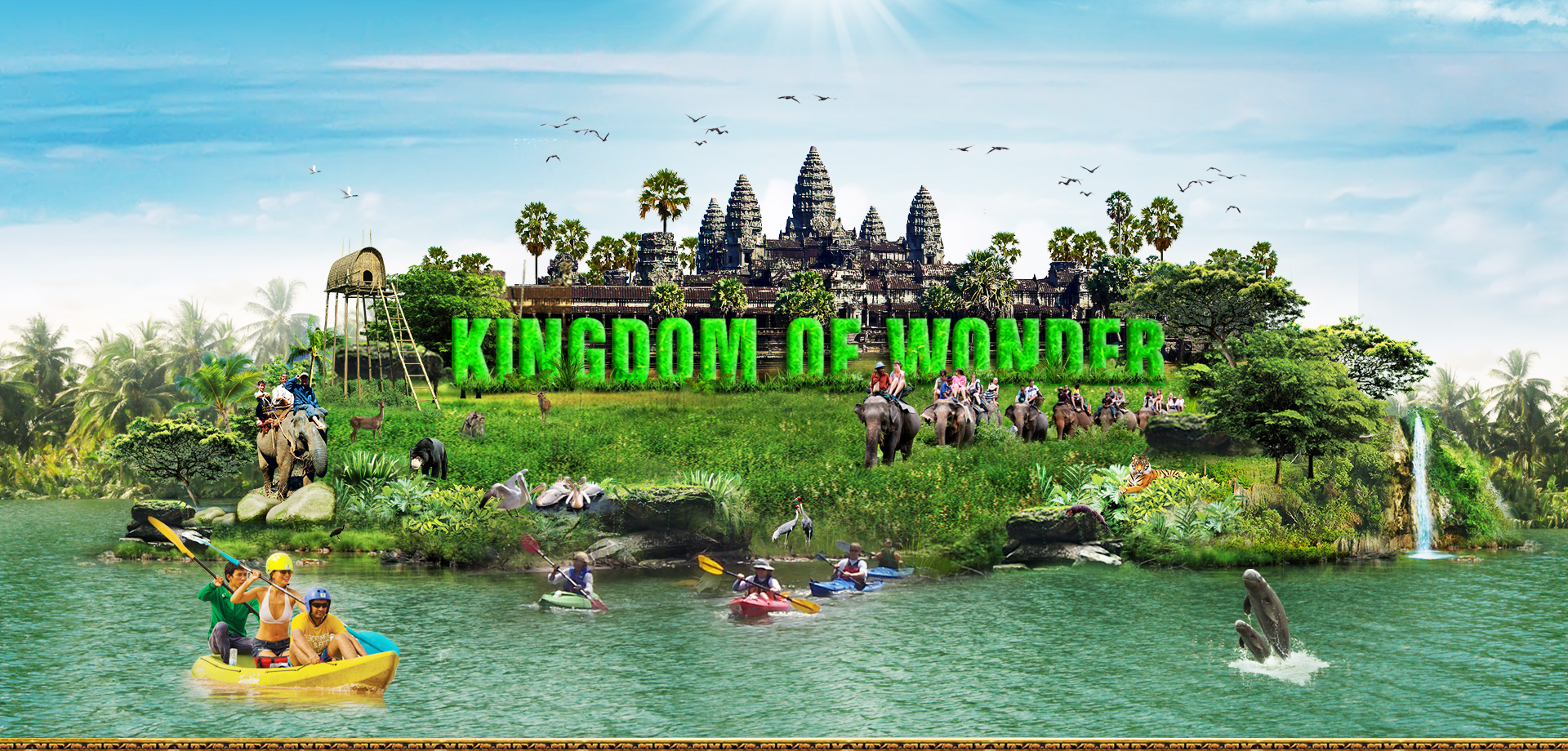Visit the magnificent Angkor Wat